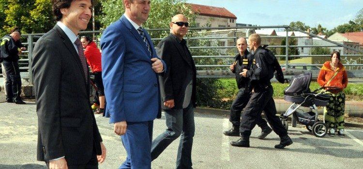 Velvyslanec Schapiro na návštěvě Liberce.