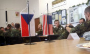 U.S. and Czech Soldiers Discuss Collection Management