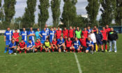 Teams FC Roma Junior from Decin and FC Embassies