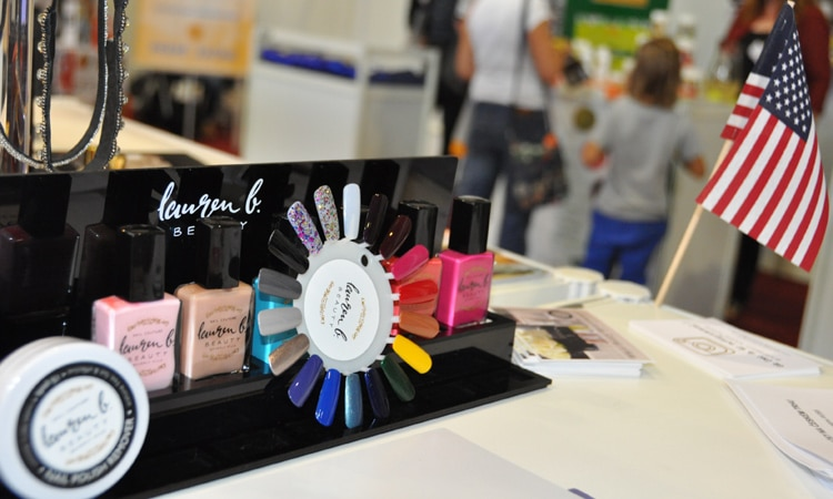 U.S. Commercial Service presents U.S. products at the World of Beauty and Spa 2015 in Prague.