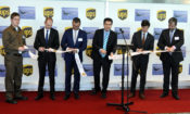 Ambassador Schapiro participates in ribbon cutting ceremony at the Prague Vaclav Havel Airport