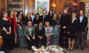 Ambassador Schapiro with awardees and partners of the Via Bona Award for philanthropy.