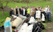 "In celebration of Earth Day, U.S. Embassy volunteers, led by Ambassador Andrew Schapiro, participated in the ""Clean up the World, Clean up the Czech Republic"" project on April 18."
