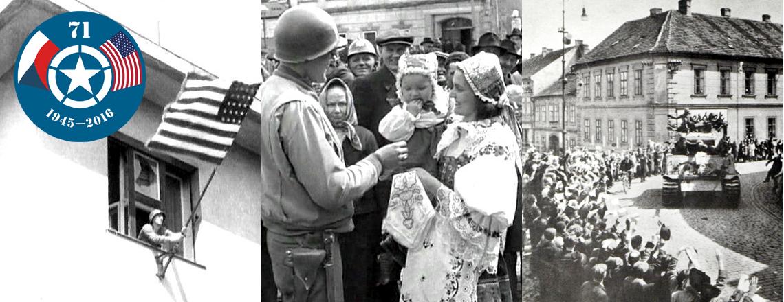 71. výročí osvobození západních a jihozápadních Čech americkou armádou
