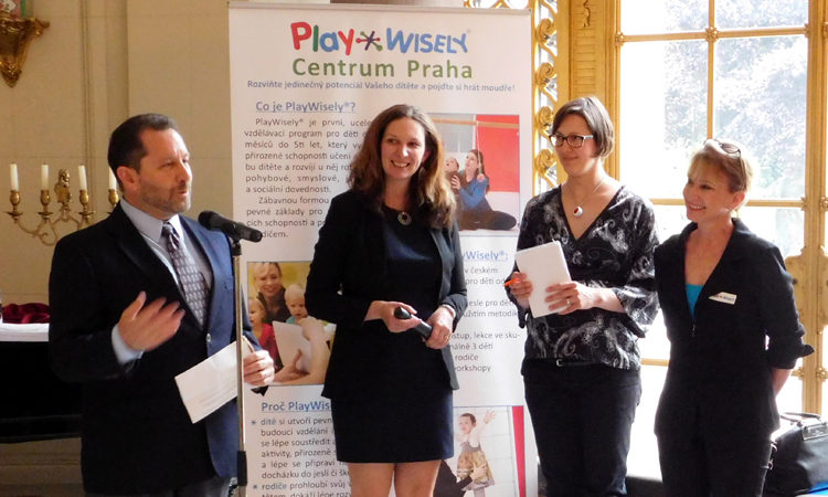 On May 19, 2016, Deputy Chief of Mission Steve Kashkett opened a seminar which featured PlayWisely's early age child development system.