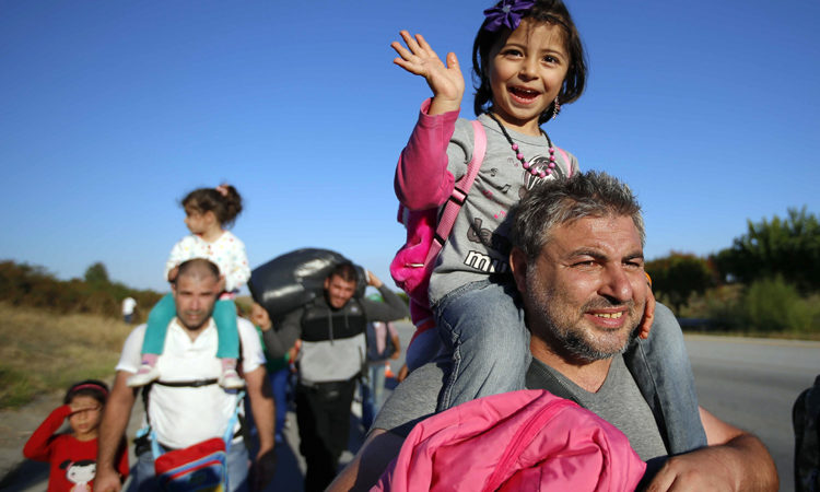 Syrian refugees (© AP Images)