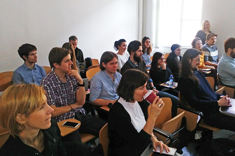 Participants of the two-day training in Prague