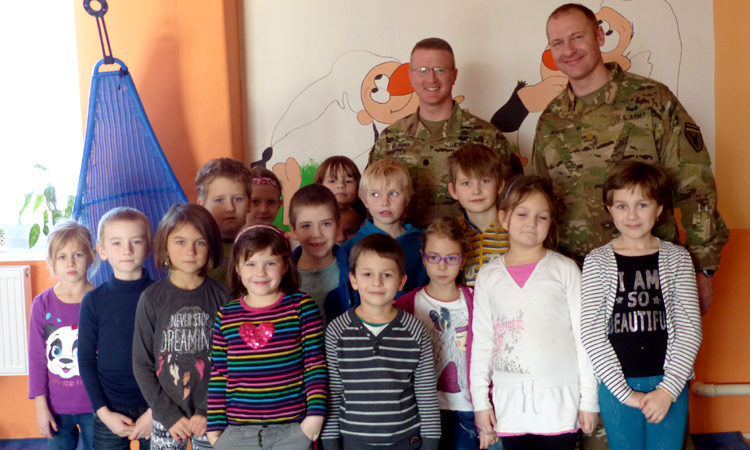 Czech Kids Learn about U.S.-Czech Military Partnership