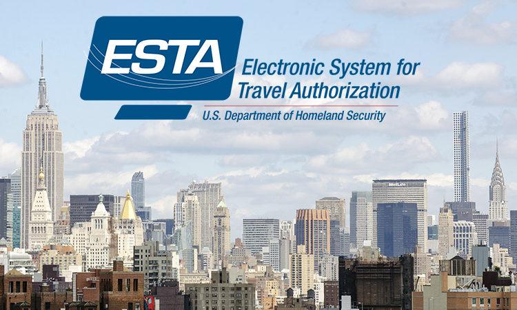 Cestování do USA s ESTA
