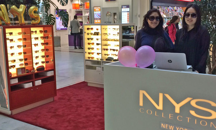 NYS Collection New York Eyewear Opens A New Kiosk in Prague