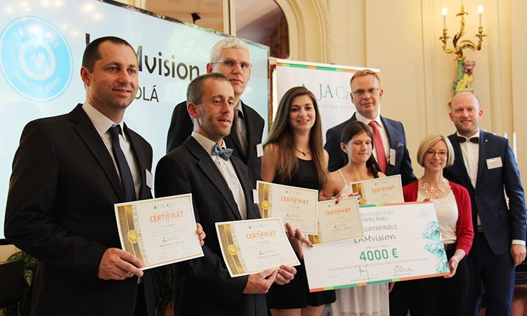 Chargé d'Affairs hosts Junior Achievement Awards Ceremony at the Ambassador's Residence