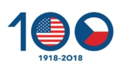 Logo of the Centennial of U.S.-Czech Relations