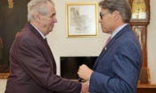 Secretary of Energy Rick Perry Emphasizes Energy Security in Prague