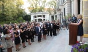 DCM Kelly Adams-Smith welcomes new U.S. participants of the Fulbright Program