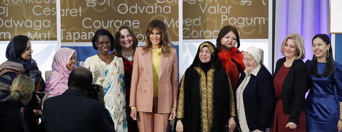 International Women of Courage Awards 2018