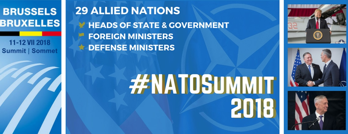 Summit NATO 2018 v Bruselu