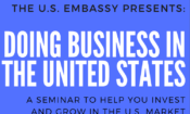 Embassy Organizes Doing Business in the United States Seminar