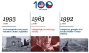 Online centennial timeline to showcase historical milestones in the U.S.-Czech relationship